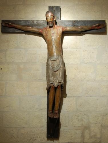 Crucificado románico de Palacios de Benaver